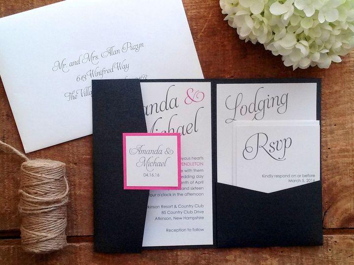 Tmx 1471798598256 Traniello Invitation Merrimack, NH wedding invitation