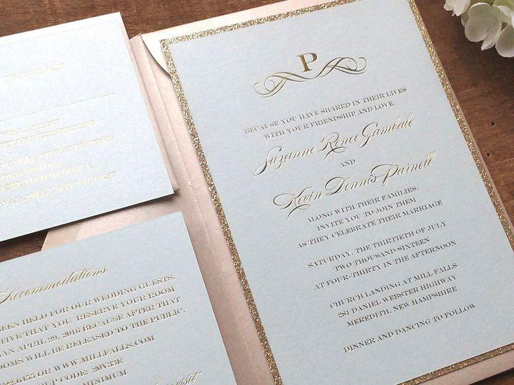 Tmx Banner Pic 3 51 60844 Merrimack, NH wedding invitation