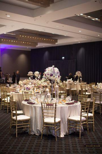 Wedding recedption setup
