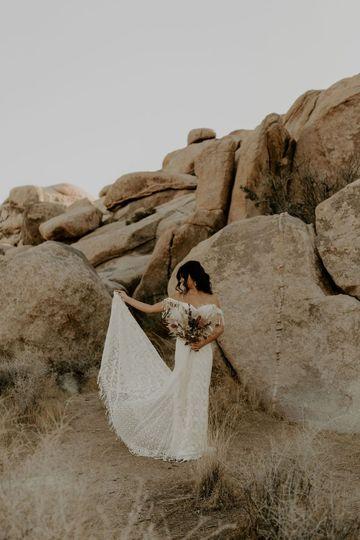 Heather Boho Wedding Dress