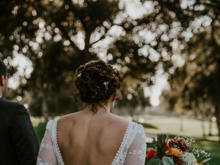 Tmx Bride Kristin Wearing Lisa Backless Dress 51 690844 160412022329657 Venice, CA wedding dress