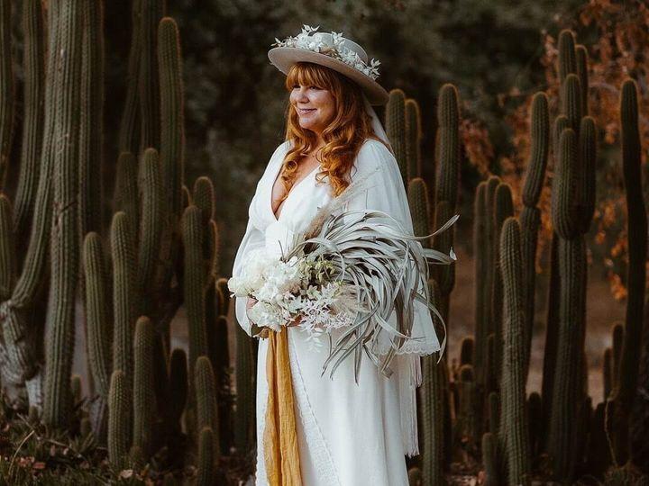 Tmx Bride Sarah In Celine 2 51 690844 160412022343479 Venice, CA wedding dress