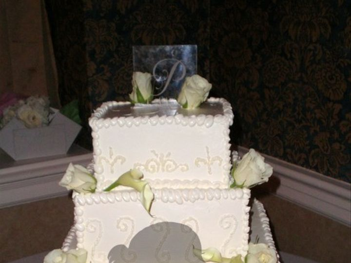 Tmx 1453170828846 Tamika  Taron Wedding Cake 2pm Brooklyn wedding cake