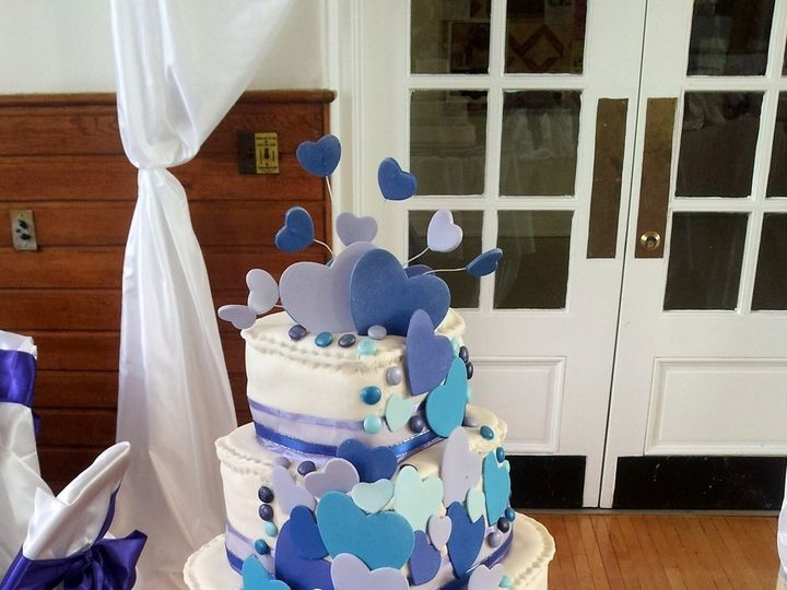 Tmx 1453171918426 Michael And Megan Wedding Cake Brooklyn wedding cake