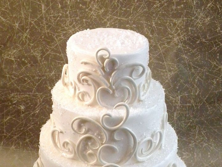Tmx 1453172217739 Winter Melody Brooklyn wedding cake