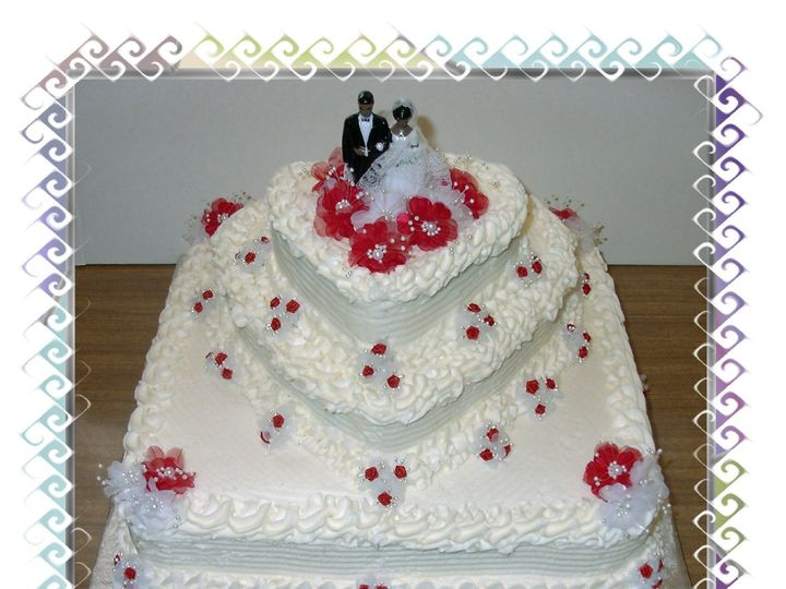 Tmx 1453172241644 Im000614 2 Brooklyn wedding cake