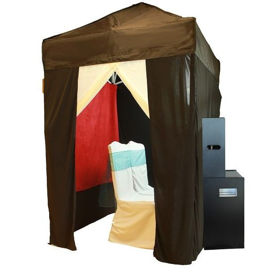Photo booth tent