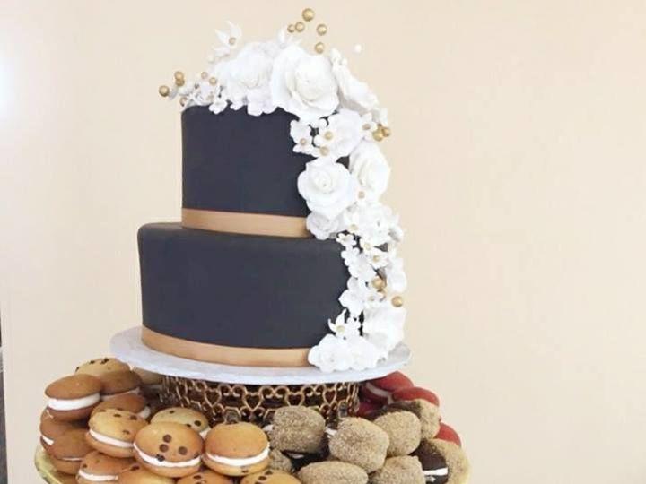 Tmx 1522168567 A36c1fa9628aeddf 1522168566 Eea44d9af1bb5f43 1522168564510 14 Tpb14 Topsfield, MA wedding cake