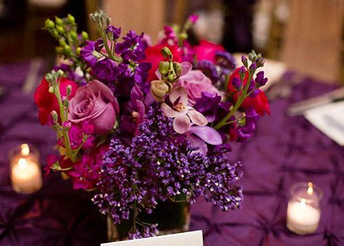 purple reception flowers 51 924844 160024841273557
