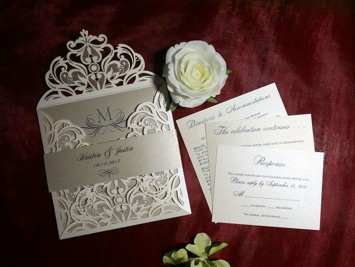 Tmx 1523908399 Ce5af5970d49a27a Custom Invitations By Joann North Arlington, NJ wedding invitation