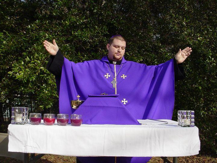 Outdoor Mass in Warrenville, SC