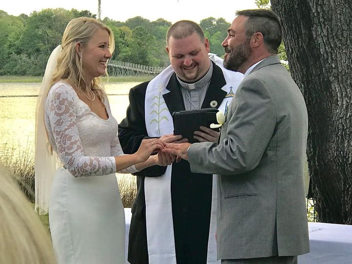 Wedding at John's Island SC