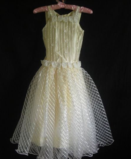 I love this simple, dress. It doesn't have as much bead design, but it looks so formal and cute at...