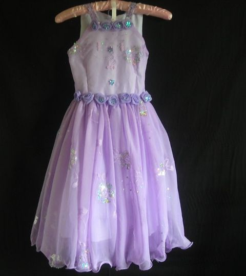 The fabric is gorgeous! it has shiny embroided sequins added to it, it has flower detail and extra...