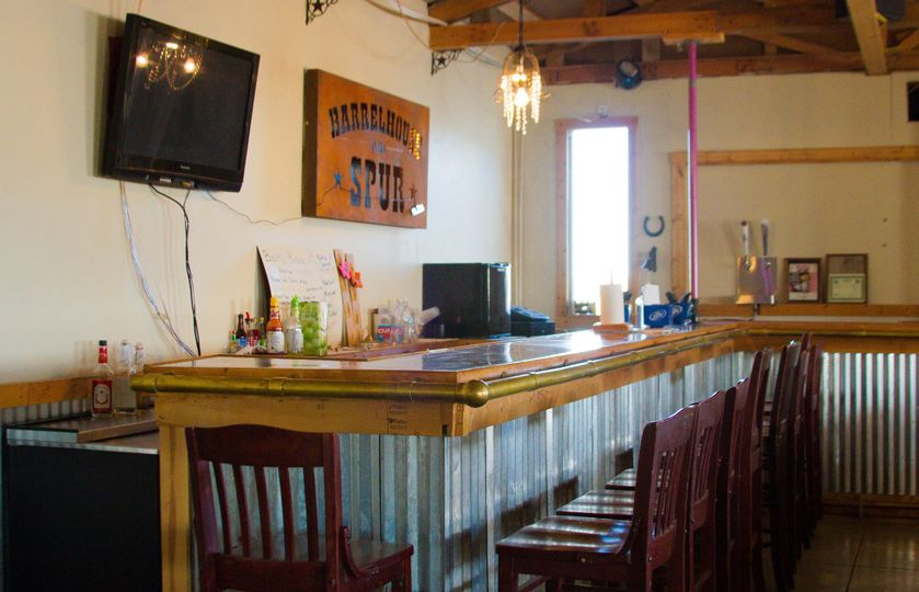 Barrelhouse bar
