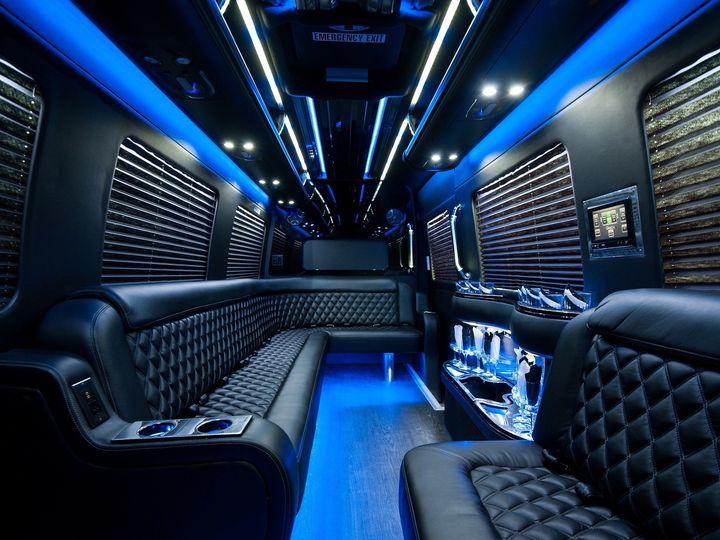 Tmx 1487875330488 Sprinter 1 Interior 5 Upper Marlboro, District Of Columbia wedding transportation
