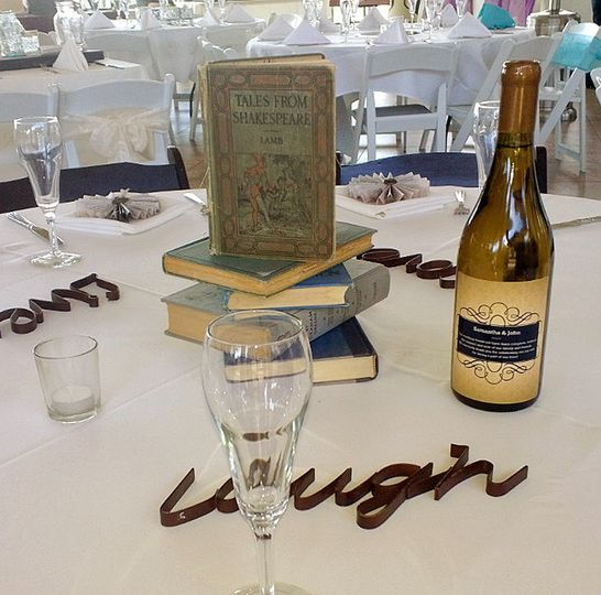 Elegant way to thank your guests and they will enjoy drinking it!
