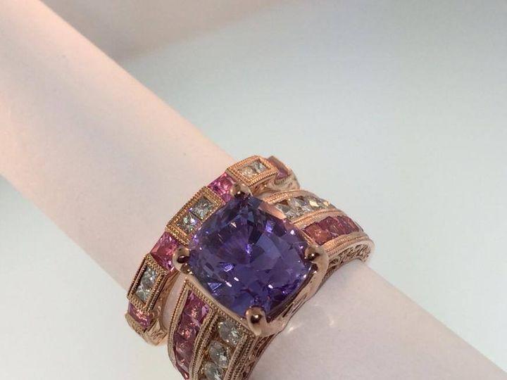 Tmx 1464899768176 Amethyst Rose Ring Fort Lauderdale wedding jewelry