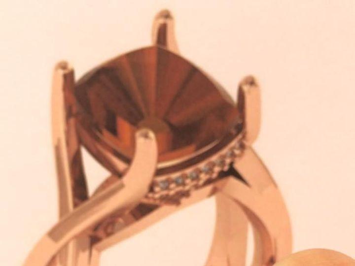 Tmx 1464899773063 Cinnamon Zircon Ring Fort Lauderdale wedding jewelry