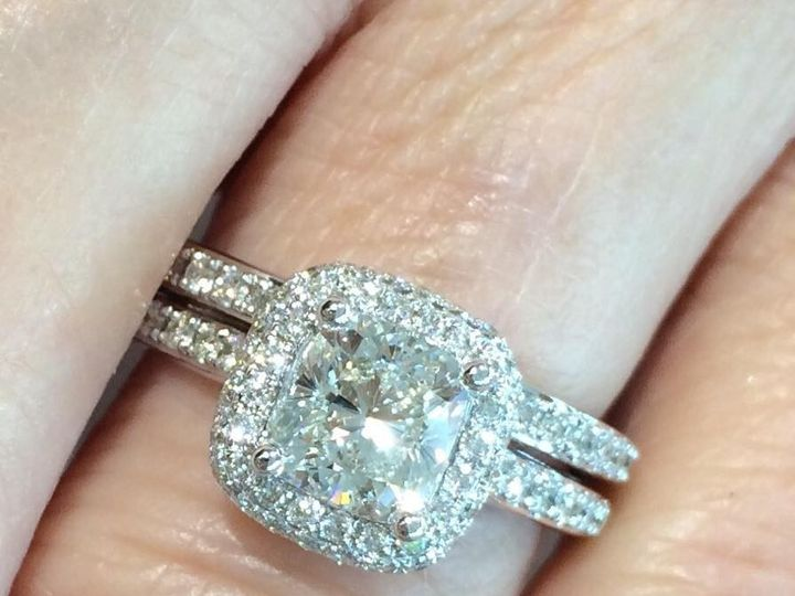 Tmx 1464899784930 Cushion Fort Lauderdale wedding jewelry