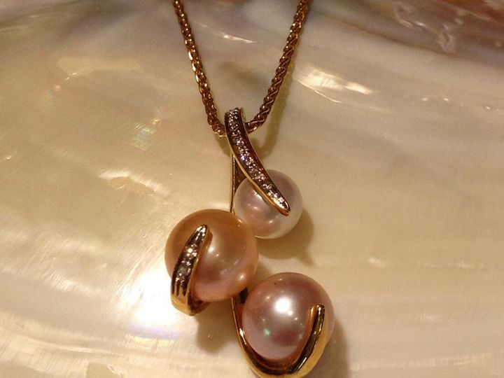 Tmx 1464899846362 Pearl Necklace Fort Lauderdale wedding jewelry