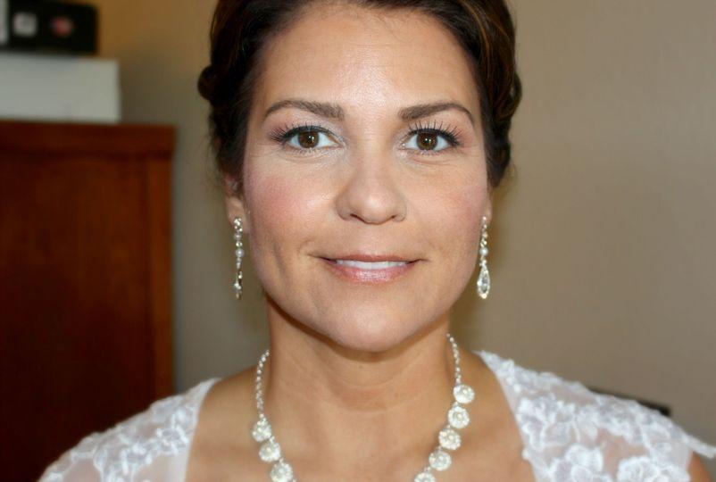 nicole bridal makeup