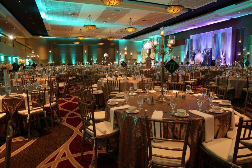 hyatt regency columbus regency ballroom wedding 6