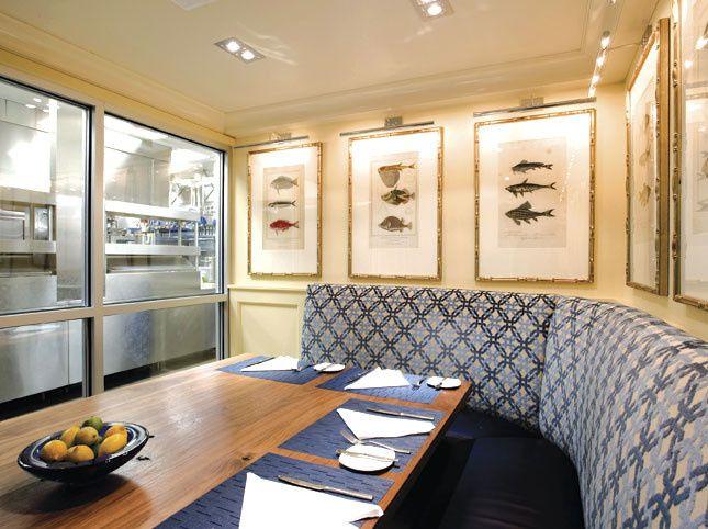 Oceana Restaurant - Chef's Dining Room