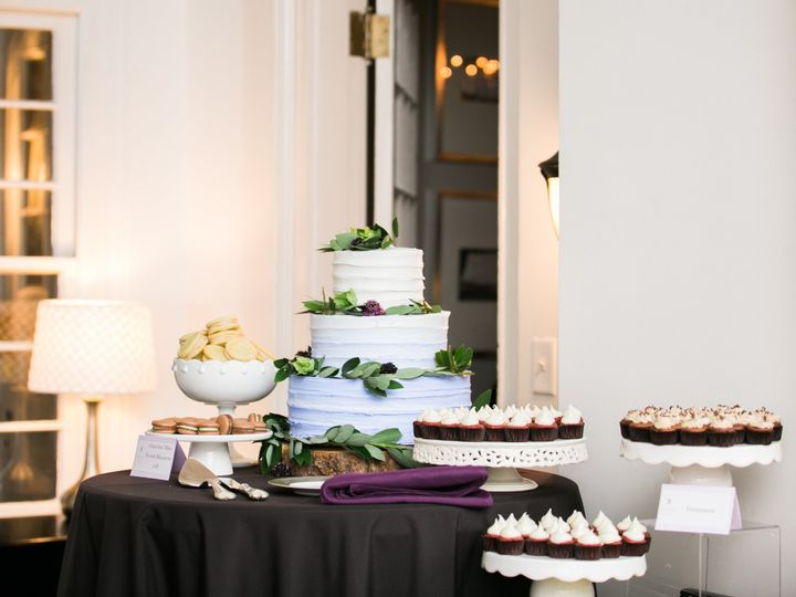 Wedding Cake Dessert Display