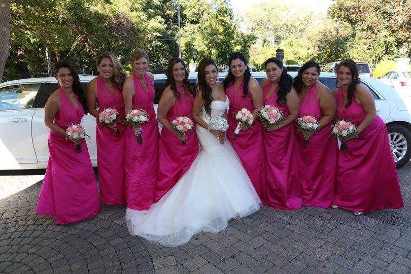 caroline bridesmaids