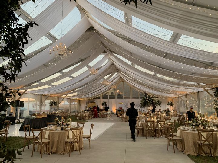 Interior 60x105 ClearSpan Tent