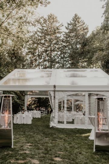 Simple Backyard Wedding