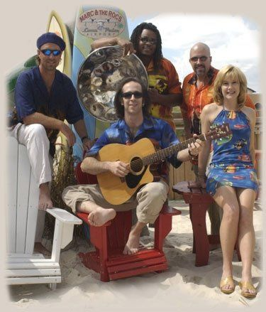 Tropical Band to perform for your beach theme wedding.
