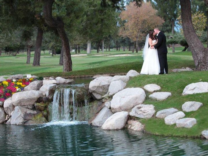Tmx Bride And Groom Water Picture With Waterfall 51 492944 159969102284940 Glendora, CA wedding venue