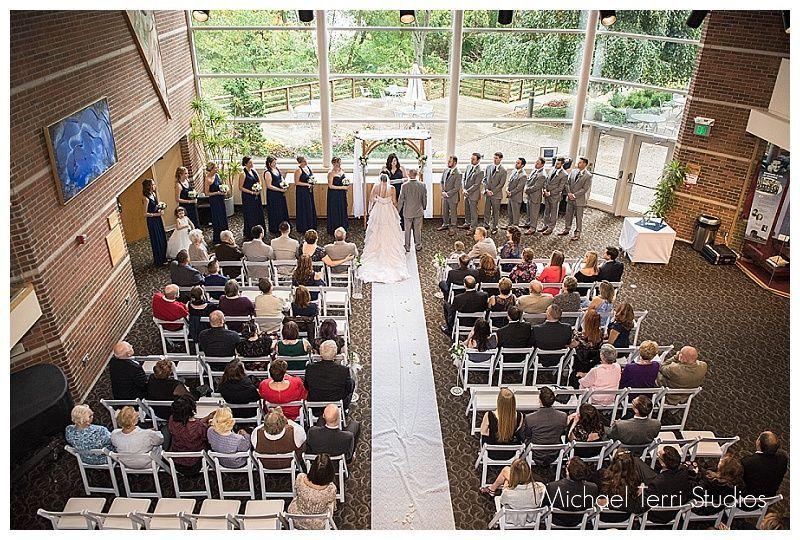 Full lobby ceremony