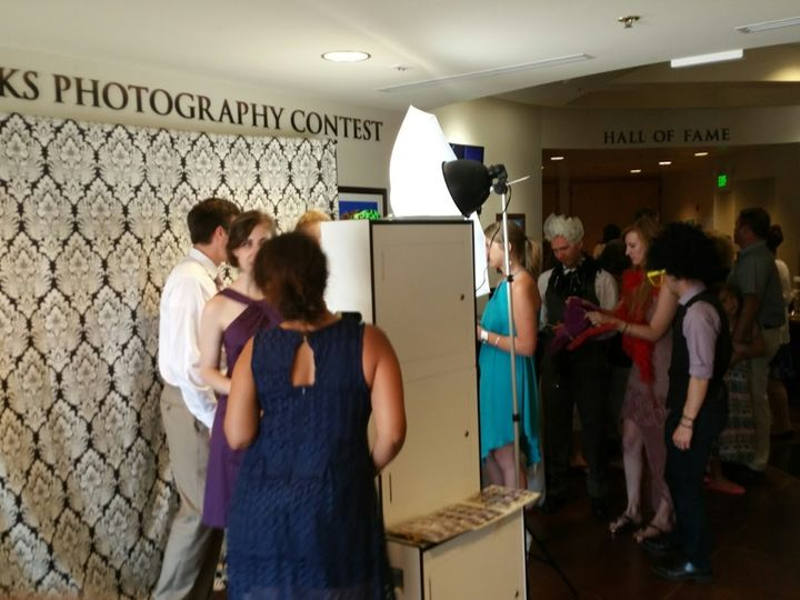 Tmx 1443566135800 Photo Booth Set Up At Red Rocks Denver wedding rental