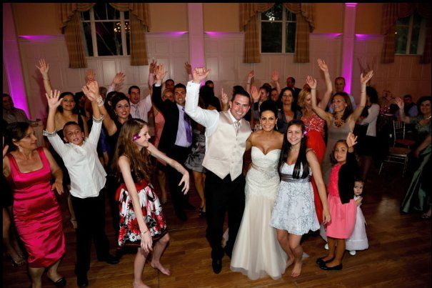 Wedding @ Renaissance Golf Club w/ Pink Uplighting