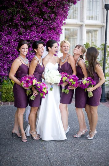 Bridal party | Photo by: Dia Rao Photography