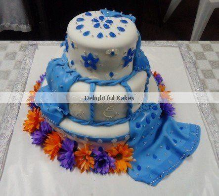 Indian Bridal Cake