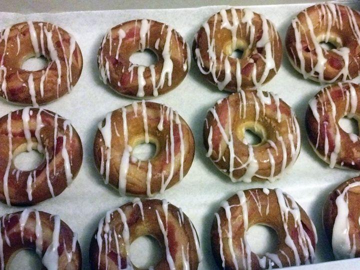 Tmx 1374505617798 Maple Bacon Donuts Winooski wedding cake
