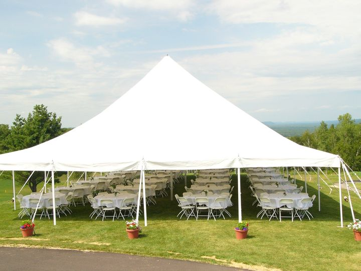 tent on the point