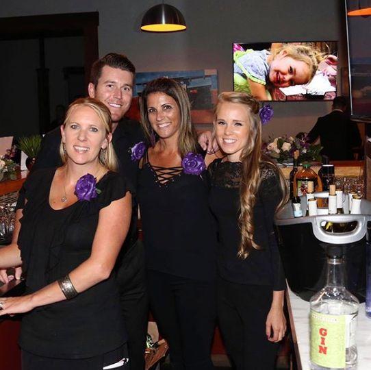 Porfessional bar staff