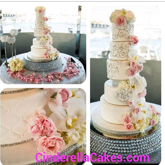 Cinderella Cakes Wedding Cake Costa Mesa CA WeddingWire
