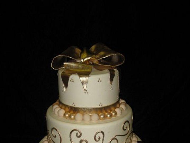 Tmx 1258949999608 Wedding007 Costa Mesa wedding cake