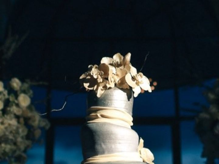 Tmx 1415162201045 Madhatter Wedding Platinum Silver Costa Mesa wedding cake