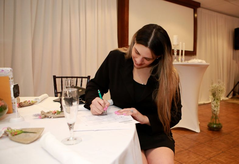 Signing the certificate