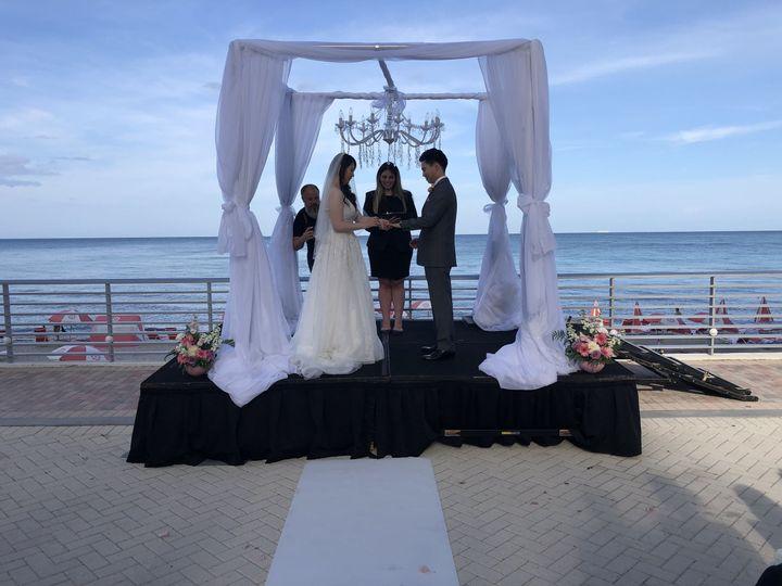 Tmx 1532377162 D4602d878590a6fc 1532377160 3814dd9550d636b3 1532377149079 1 8586ADD5 DF30 4515 Hollywood, FL wedding officiant