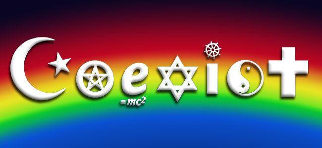 coexist rainbo