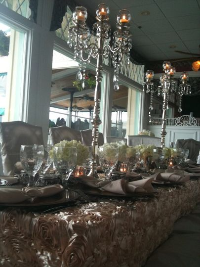 Enjoy an elegant reception in our Harbor View Dining room overlooking the magnificent view of the...