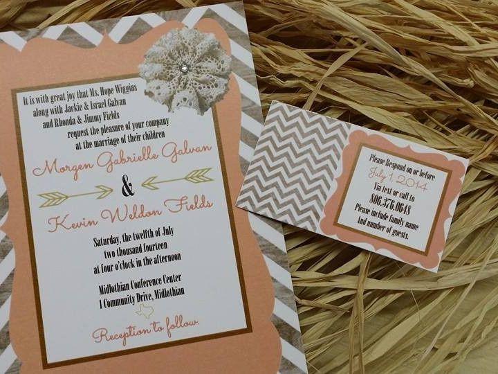 Tmx 1478110261249 103525635090940925514488864799904132637905n Waxahachie wedding invitation